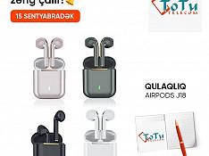 Airpods J18 Баку