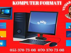 Windows sistemlərinin format edilməsi Bakı