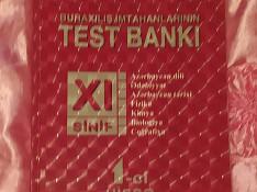 Test kitabı Bakı