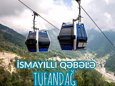 İsmayıllı-Qəbələ-Tufandağ turu Bakı